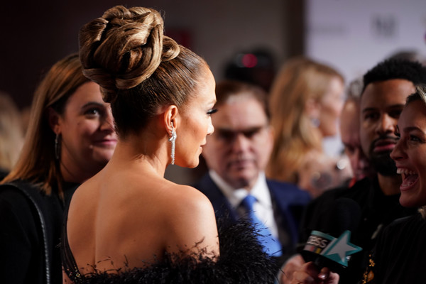 More Pics of Jennifer Lopez Nude Lipstick (1 of 31) - Jennifer Lopez Lookbook - StyleBistro [red carpet,hair,hairstyle,fashion,event,premiere,dress,flooring,ceremony,flash photography,formal wear,jennifer lopez,new york city,cipriani wall street,ifp,29th annual gotham independent film awards]