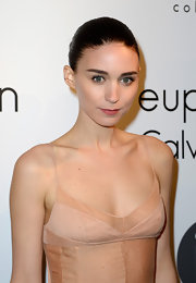 Rooney Mara stuck to her sleek and chic classic bun for a totally cool look at the Calvin Klein Celebration of Women in Film.