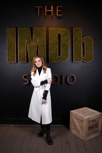 More Pics of Zoey Deutch Wool Coat (1 of 12) - Outerwear Lookbook - StyleBistro [before i fall,font,photography,zoey deutch,park city,filmmaker discovery lounge,utah,imdb studio,sundance film festival featuring the filmmaker discovery lounge,amazon video direct: day one]