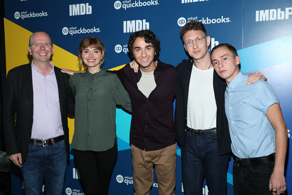 More Pics of Imogen Poots Penny Loafers (1 of 17) - Loafers Lookbook - StyleBistro [event,premiere,team,col needham,ker gilchrist of castle,joey klein,imogen poots,alex wolff,founder,toronto,imdb,quickbooks canada,intuit]