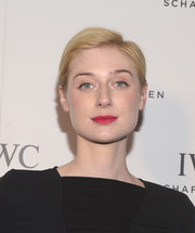 Elizabeth Debicki sported a simple short 'do at the IWC Schaffhausen Rodeo Drive grand opening.