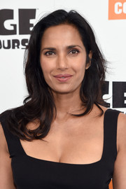 Padma Lakshmi attended the New York screening of 'Ice Age: Collision Course' wearing her hair in loose waves.