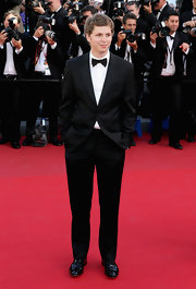 Michael Cera may be a funny guy on camera, but he certainly looked anything but funny in this dapper tux!