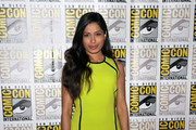 Freida Pinto Gets Strappy in Dana Davis Sandals
