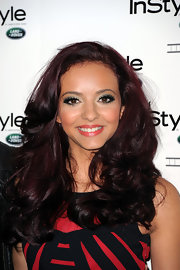 Jade Thirlwall styled her lush hair in voluminous curls for the InStyle Anniversary Party.