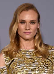 Diane Kruger sported gorgeous half-pinned waves during the InStyle Awards.