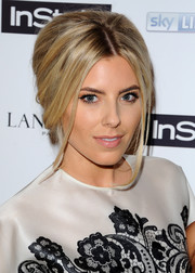 Mollie King went retro with this beehive at the pre-BAFTA party.