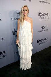 Rachel Zoe looked sweet in a boho-glam one-shoulder lace gown from her own line during the InStyle Awards.