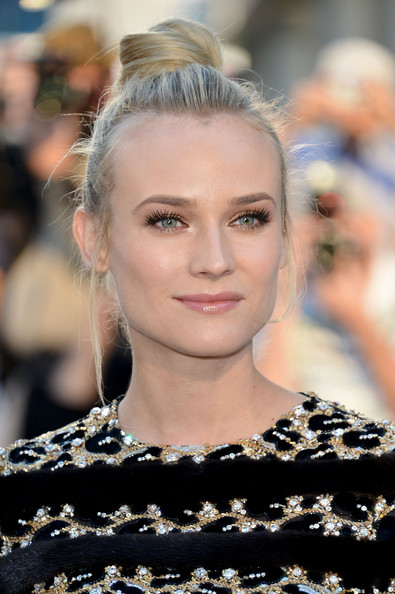 Diane Kruger's Prominent Lashes