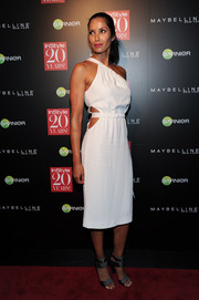 Padma Lakshmi defied age in a one-shoulder LWD with a sexy waist cutout during the InStyle 20th anniversary party.