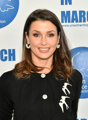 Bridget Moynahan wore her hair in a messy lob at the International Women's Day United Nations Awards.