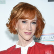 Kathy Griffin's Wavy Bob With Bangs