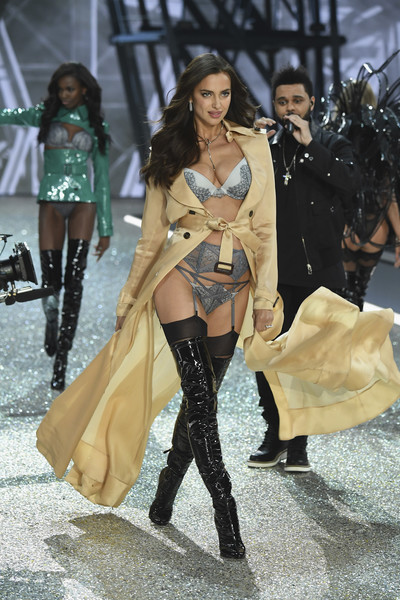 Irina Shayk Over the Knee Boots