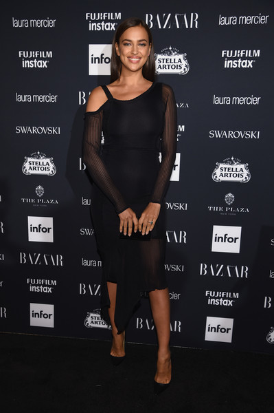 Irina Shayk Little Black Dress
