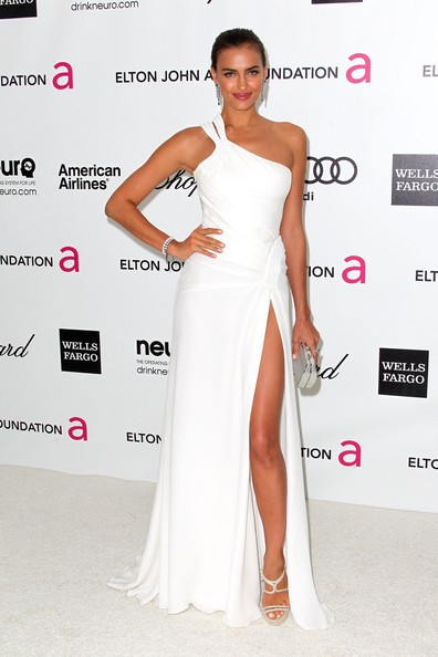 Irina Shayk One Shoulder Dress