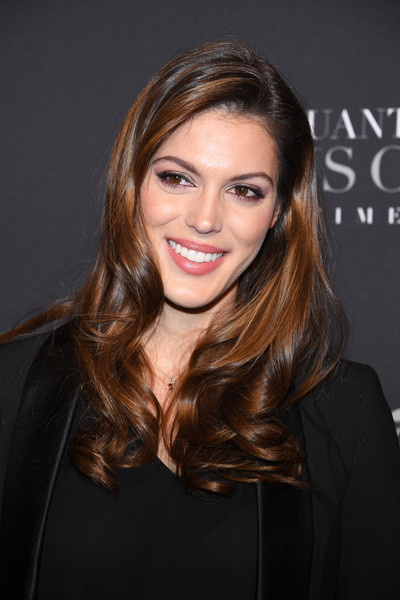 Iris Mittenaere Long Curls [fifty shades freed - 50 nuances plus claires,fifty shades freed,hair,face,hairstyle,eyebrow,brown hair,beauty,long hair,blond,lip,chin,iris mittenaere,atsalle pleyel,paris,france,salle pleyel,paris premiere]