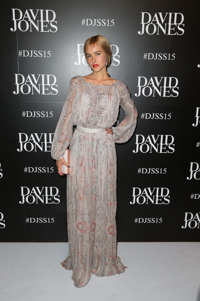 Isabel Lucas Maxi Dress