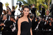 Isabeli Fontana One Shoulder Dress