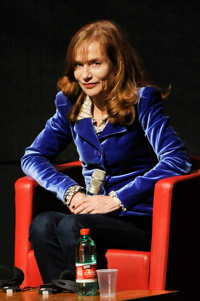 Isabelle Huppert Fitted Jacket