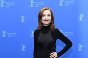Isabelle Huppert Turtleneck