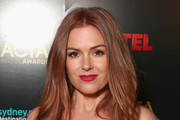 Isla Fisher Long Center Part