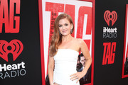Isla Fisher Metallic Clutch