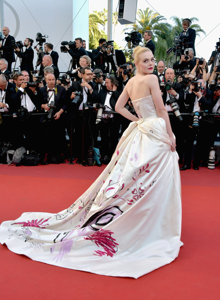 Elle Fanning In Vivienne Westwood Couture, 2017