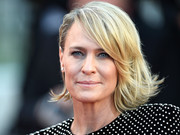 Robin Wright attended the Cannes Film Festival opening gala looking retro-chic with her flip.