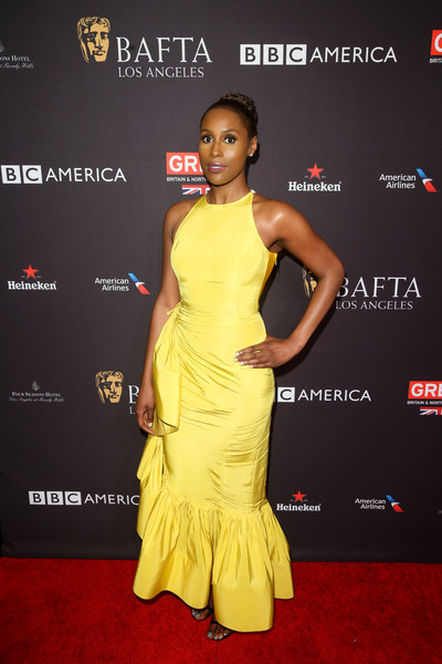 Issa Rae Mermaid Gown