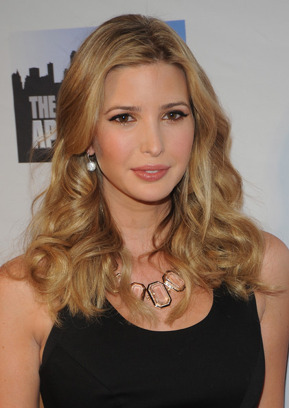 Ivanka Trump Long Wavy Cut