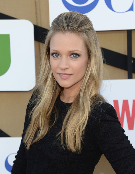A.J. Cook Half Up Half Down