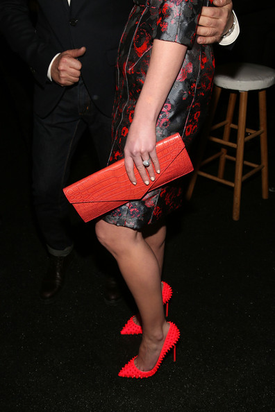 More Pics of Katherine Heigl Studded Heels  (1 of 12) - Katherine Heigl Lookbook - StyleBistro