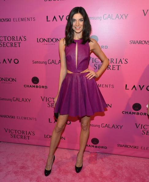 Jacquelyn Jablonski Leather Dress