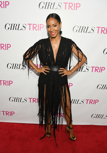 Jada Pinkett Smith Fringed Dress