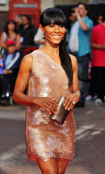 Jada Pinkett Smith Ponytail