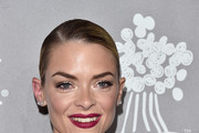Jaime King Long Braided Hairstyle