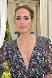 Louise Roe attended the Jaime King x ColourPop launch rocking tribal-chic fringed earrings.