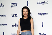 Jaime Murray Crop Top