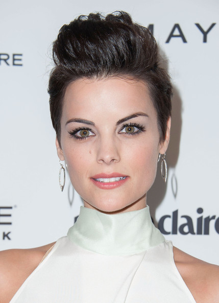 Jaimie Alexander Fauxhawk [jaimie alexander,marie claires,marie claires fresh faces party,hair,face,hairstyle,eyebrow,chin,lip,skin,beauty,shoulder,forehead,soho house,west hollywood,california,fresh faces party]