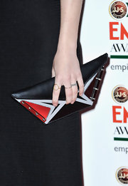 Ellie Goulding opted for this cool, futuristic-styled clutch for her red carpet look at the Empire Awards.