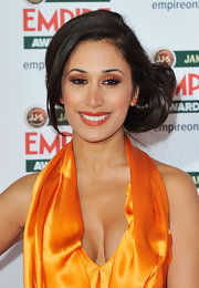 Preeya Kalidas amped up her look with copper shadow at the Jameson Empire Awards.