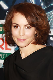 Noomi Rapace stuck to a neutral palette for her beauty look when she attended the Jameson Empire Awards.