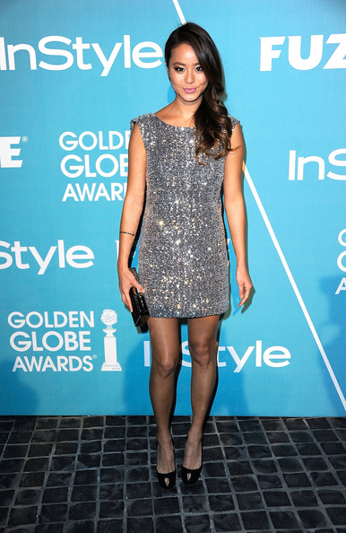 Jamie Chung Beaded Dress