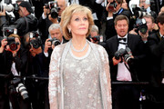 Jane Fonda Beaded Dress