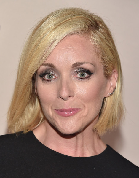 Jane Krakowski Bob [red carpet,face,hair,eyebrow,blond,hairstyle,chin,lip,head,cheek,beauty,jane krakowski,west hollywood,california,fig olive melrose place,party,entertainment weekly,entertainment weekly pre-emmy party]