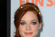 Jane Levy Messy Updo
