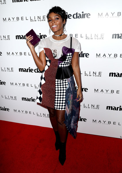 Janelle Monae Box Clutch