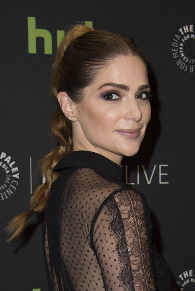 Janet Montgomery Long Braided Hairstyle