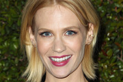 January Jones Layered Razor Cut