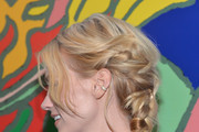 January Jones Long Braided Hairstyle
